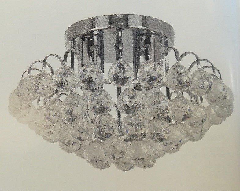 Elem Monaco 67734 8C chrom Lampa Sufitowa kryształowa