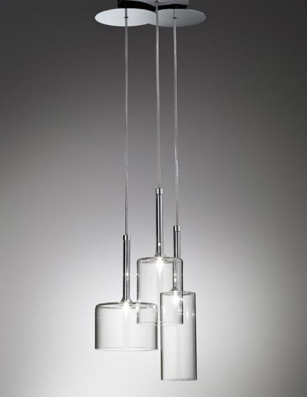 AXO Light Spillray SP 3 Zwis  przezroczysty