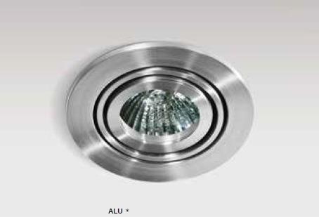 Azzardo CARLO 1 AZ0804 Aluminium Wpust