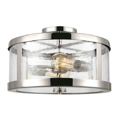 Elstead Lighting Harrow FE-HARROW-SF Nikiel Plafon