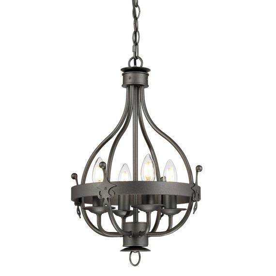 Elstead Lighting Windsor WINDSOR4 GR Lampa wisząca