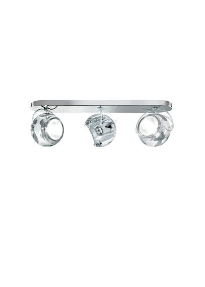 Fabbian BELUGA COLOUR D57 G25 00 crystal Plafon