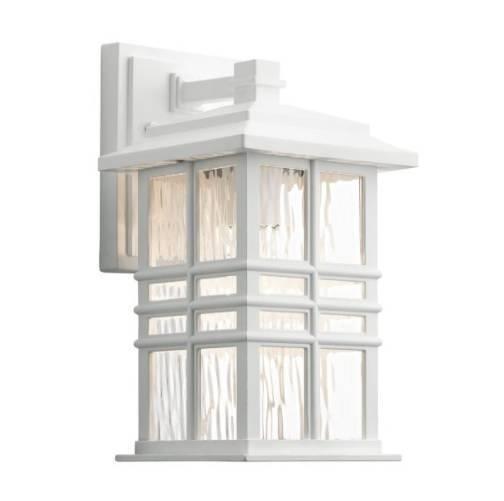 Kinkiet zewnętrzny Elstead Lighting Beacon Square KL-BEACON-SQUARE-S-WHT