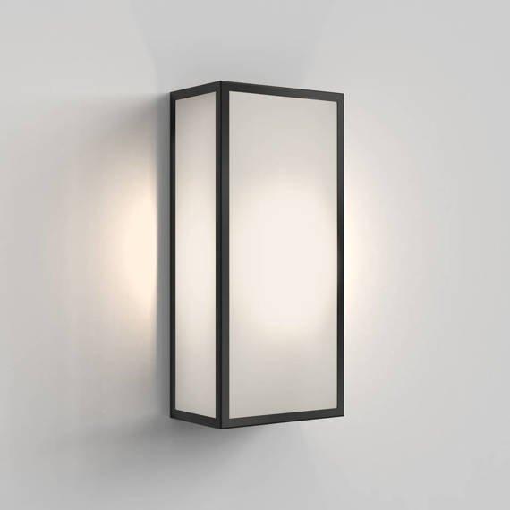 Lampa Ścienna Astro Messina Frosted 1183024 Czarny