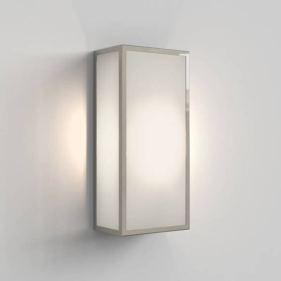 Lampa Ścienna Astro Messina Frosted 1183025 Nikiel