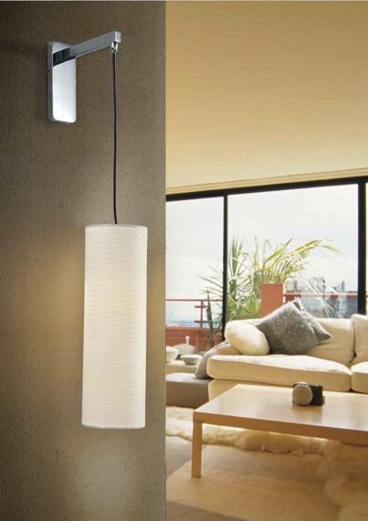 Lampa ścienna Azzardo Almeria LED biały