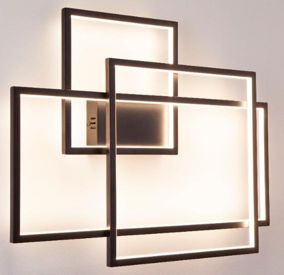 Lampa ścienna MaxLight Geometric W0233D z funkcją ściemniania