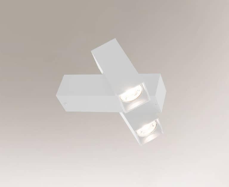 Lampa ścienna Shilo Mitsuma 8003 Biała