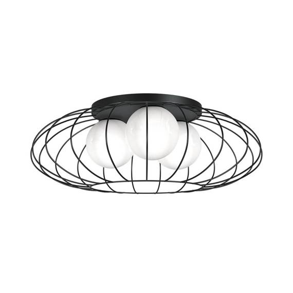 Lampa sufitowa Milagro Black MLP4426