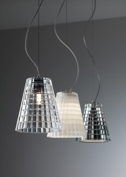 Lampa wisząca Fabbian FLOW D87 A01 00 cristal