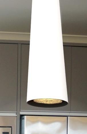 Lampa wisząca MaxLight Slim P0001 biała