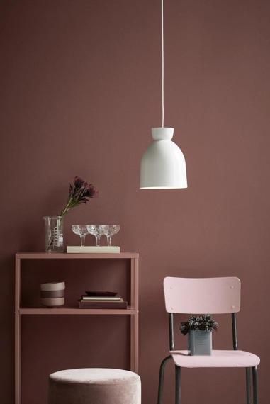 Lampa wisząca z białym kloszem Circus 46403001 Nordlux