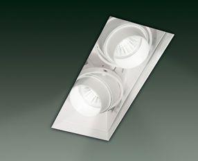 Leucos SD 602 Wpust biały 22,5 x 8,2 cm