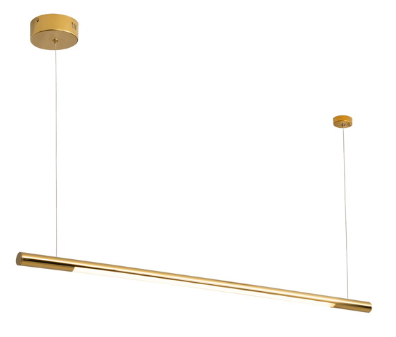 MaxLight Organic Gold P0356 Lampa wisząca podłużna