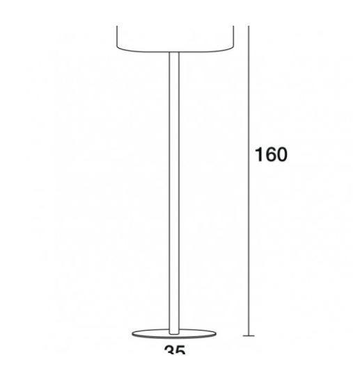 Novolux Exo Oval 611D-G05X1A-35 Lampa podłogowa