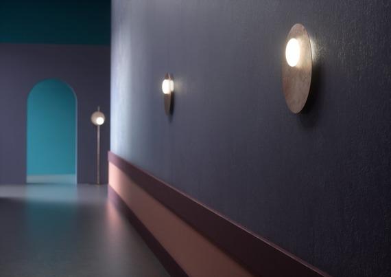 Plafoniera Axo Light Kwic 48 cm brązowa