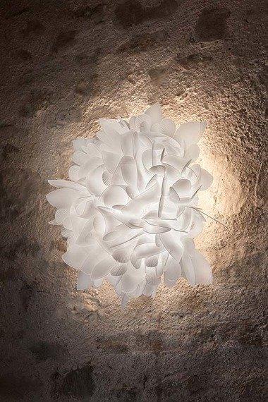 Plafoniera biała Slamp Veli Foliage duża
