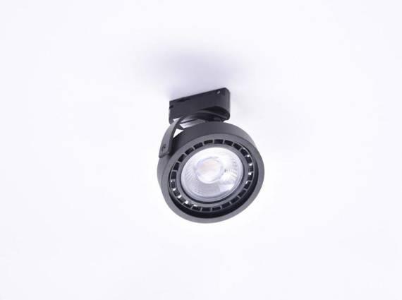 Reflektor szynowy Azzardo Jerry Track 1 Fazowy AZ4666 Czarny