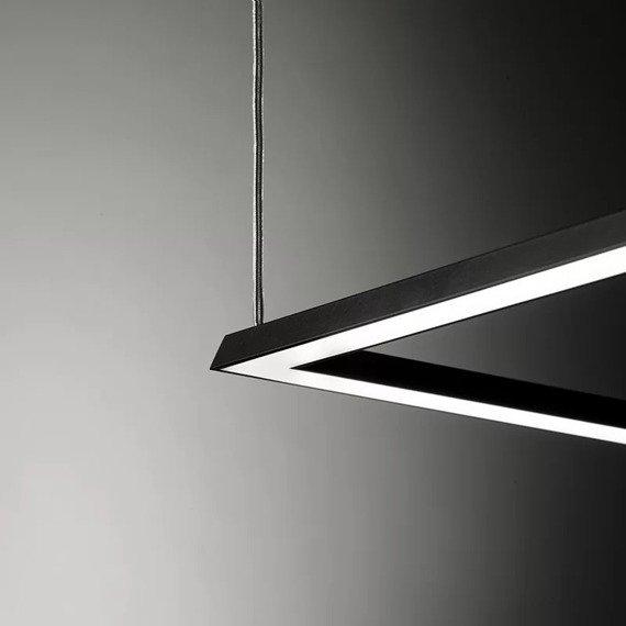 Sforzin Area Nera Zwis LED nowoczesny styl