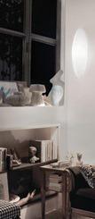 VISTOSI DODO PP34 Lampa Ścienna 34 cm biała