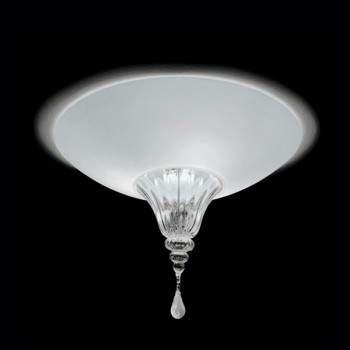 Vintage POISON 45 Lampa Sufitowa bianco/cristallo