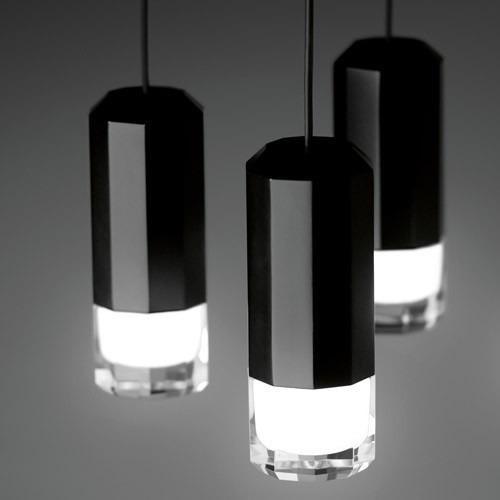 Zwis Wireflow 0305-04 Vibia czarna 90 x 104 cm