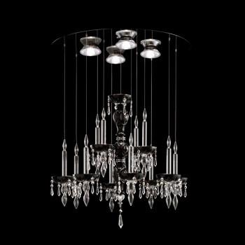 Żyrandol Facon de Venice LIMELIGHT 12.4 crystal/black