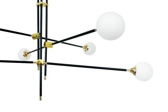 Żyrandol duży do wysokiego salonu Berella Light Intose 6 BL0271