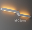 Mafur LED Kinkiet Srebrny Cleoni